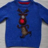 Красивый свитер для мальчика TU на год-полтора