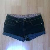 Фирменные джинсовые шорты L