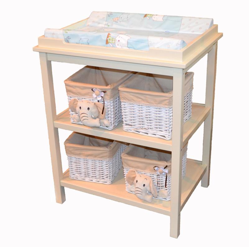 Пеленальный столик, пеленатор, деревянный стол для пеленания фото №1