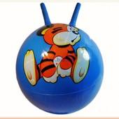 Мяч рожки тигренок 50см 530грA5345
