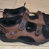 Ecco  flex 43р сандалии босоножки кожаные. Оригинал