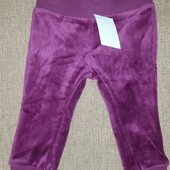 Мягенькие велюровые штаники для Вашей куколки от Impidimpi (Германия), рост 74-80