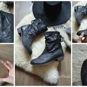 Стильные кожаные ботинки Next,р-р 41