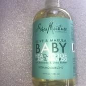 органический шампунь олива-марула shea moisture 384 мл оригинал