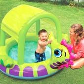 Надувной детский бассейн Морской конек (188х147x104 см)