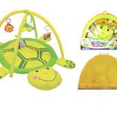 Детский развивающий коврик Черепашка 898-12B