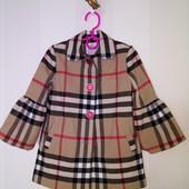Пальто для девочки, 104см