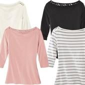 персиковая женская блуза из биохлопка.Esmara/Германия.евро 40-42