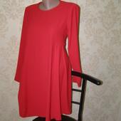 Zara платье красного цвета  L-XL-размер состояние нового