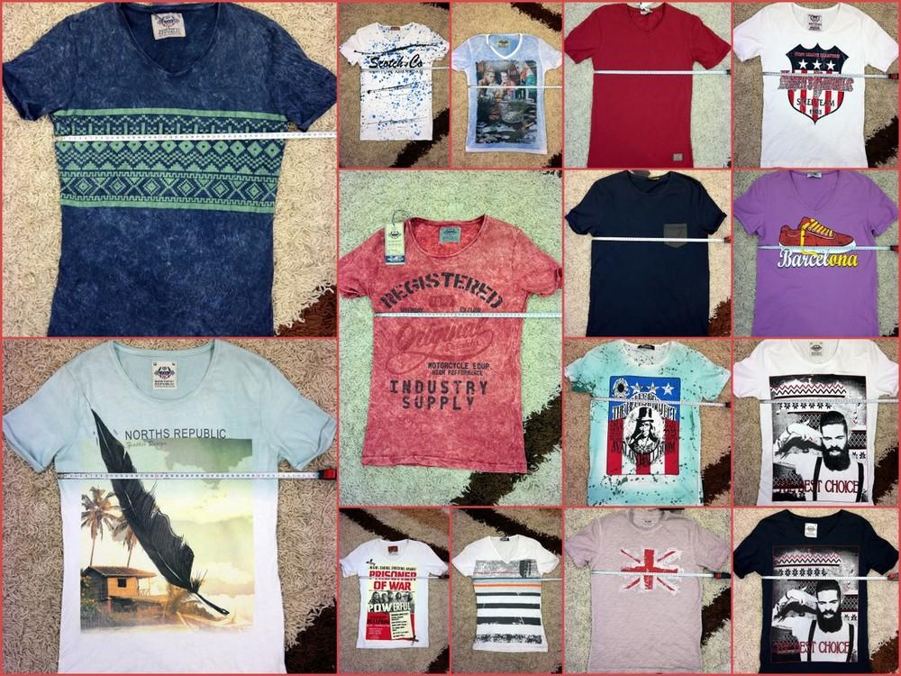 19 Моделей Стильные Качественные футболки North Republic и другая турция, размеры не все фото №1