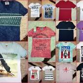 19 Моделей Стильные Качественные футболки North Republic и другая турция, размеры не все