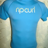 Спортивная оригинал термо футболка гольф рашгард Rip Curl (Рип Керл) унисекс xs-s