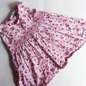 Милое платье M&Co на девочку 3-6мес.