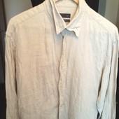 Рубашка Zara 100% лён Недорого