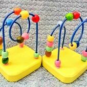 Деревянная развивающая игрушка Пальчиковый Лабиринт