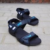 Сандалии мужские Nike L2 Blue, кожа