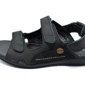 Сандали мужские Multi Shoes Collection GX черные (реплика)