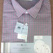 Стильная клетчатая рубашка от Royal Class, размер 40 европейский