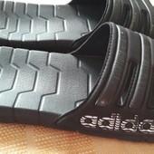 Шлёпанцы Adidas оригинал р.40-25.5см