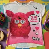 Как Новая Футболка Furby 8-9 лет