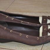 Ralph Lauren 42р туфли мокасины балетки кожаные Оригинал