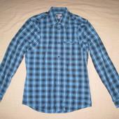 H&M (S) рубашка мужская натуральная