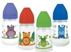 Бутылочка для кормления akuku c широким горлышком 250мл польша фото №1