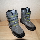 Бронь до 3 октября  Зимние термо ботинки , 23 см. по стельке.