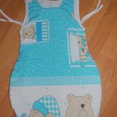 Спальный мешок для новорожденного 0-6 мес. TM Tossia (Франция-Украина)
