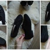 Туфли на низком ходу со шнуровкой,р-р 38