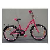 """Велосипед двухколесный Profi """"Butterfly"""" 18"""" (G1862)"""