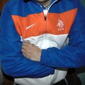 Спортивная оригинал мастерка кофта Nike зб Голандии .л.