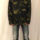 1258 Камуфляжная тонкая куртка