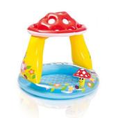 Надувной бассейн с навесом «Грибок» Intex 57114