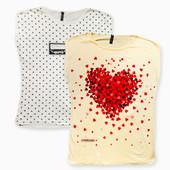 Молочные, жёлтые футболки больших размеров рр.48-56