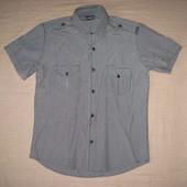 Armani Jeans (S) рубашка мужская натуральная
