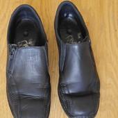 Туфлі шкіряні розмір 37 стелька 23,7 см Rieker