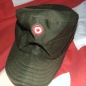 Фирменная оригинал кепка пилотка Бундесвер Sharrer милитари .л-хл .