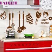 """Интерьерная Наклейка для кухни """"Happy kitchen"""""""