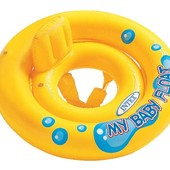 """Плавательный плотик """"Мой малыш"""" Intex 59574NP"""