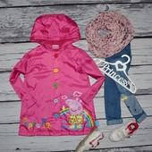 Обалденный плащ пальто ветровка для девочки 4 - 5 лет 110 см Peppa Pig Свинка Пеппа
