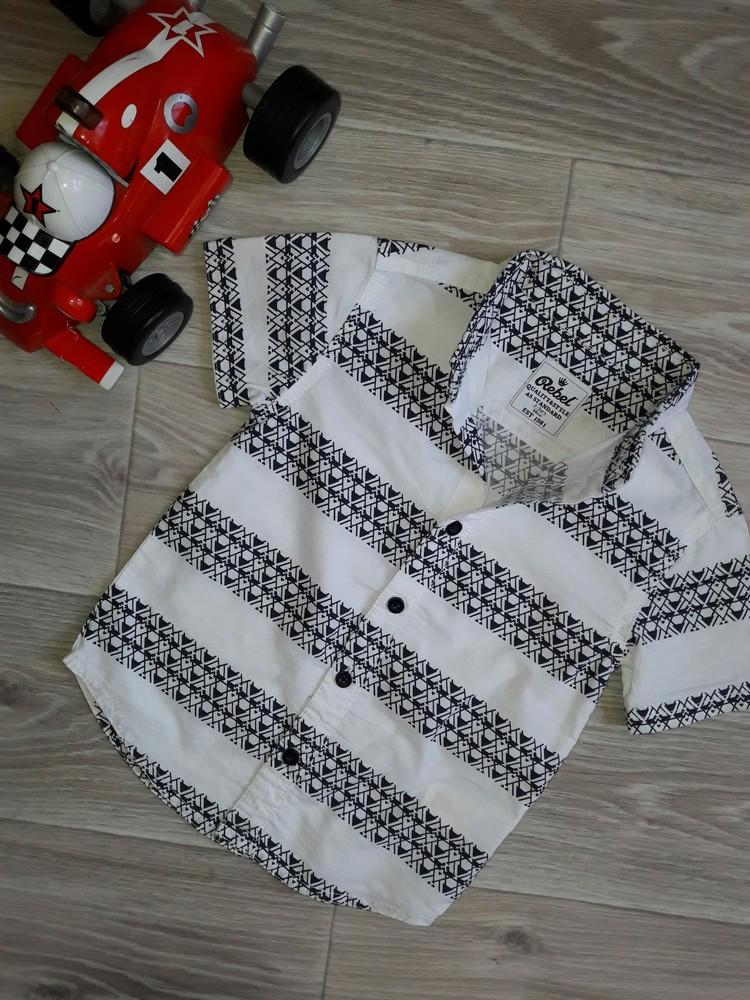 Rebel стиляжная рубашка 2-3 г 98 см фото №1
