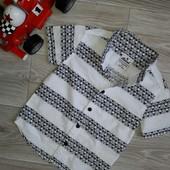 Rebel Стиляжная рубашка 2-3 г 98 см