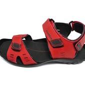 Сандалии мужские кожаные Cuddos C2 красные (реплика)