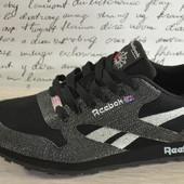 Reebok Мужские черные кроссовки