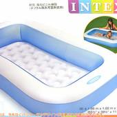 Бассейн надувной детский прямоугольный 57403 Интекс, басейн дитячий Intex