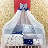 Детское постельное белье для новорожденных от ТМ Bonna