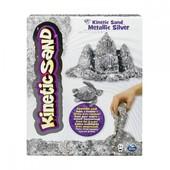 Kinetic Sand Кинетический песок серебряный с блестками Драгоценные камни metallic shimmering silver
