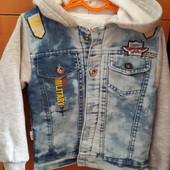 Джинсовый пиджак куртка