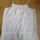 Pimkie натуральна тоненька блузка майка М-L